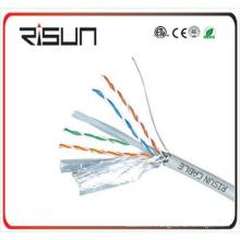 Câble de réseau de paire torsadée de haute qualité de câble de CAT6 de ftp