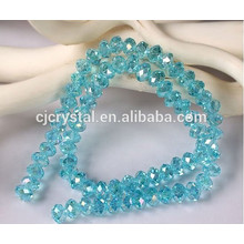 Wholesale 8MM Crystal Faceted Rondelle Beads