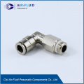 Air-Fluid Male Elbow Push In Pneumatic Fittings.