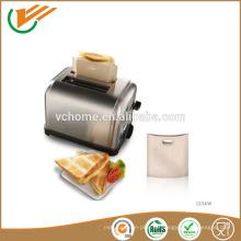 2015 china lieferant -70 ~ 260 centigrade PTFE wiederverwendbare Toastie Toaster Beutel passend für Backofen