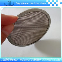 Malha de disco de filtro com multi-camada
