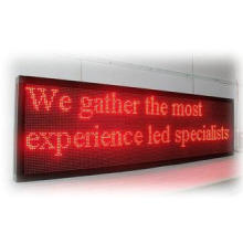 P10 Picture Single Color LED Scrolling Message Signs Board
