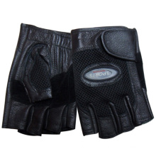 Men′s Fashion Fingerless Sheepskin Leather Sports Gloves (YKY5021)