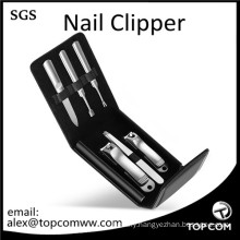 6-in-1 Nail Clippers Manicure Pedicure Tools Set Kit with Tweezers and Nail File for Personal Care