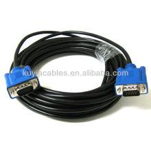 25FT 25 FT 15 PIN SVGA SUPER BLUE M Macho 2 macho VGA Monitor Cable PARA PC TV