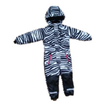 Zabra Hooded Reflective Waterproof Jumpsuits for Baby/Children
