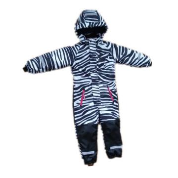 Zabra Hooded Reflective Waterproof Jumpsuits for Baby/Children