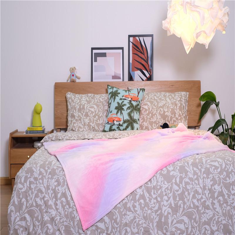Short Plush Fleece Flannel Blankets