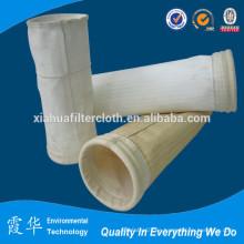 Bolsa de filtro de polvo de poliéster para la recogida de polvo