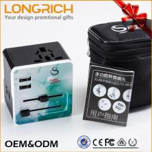 Adaptateur de voyage international schuko travel adapter adaptateur de voyage universel avec une qualité élevée