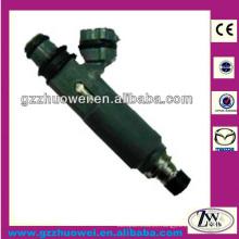 Mazda 323 Inyector de combustible Boquilla pequeñas piezas de inyección de combustible Motor Auto inyector Z599-13-250