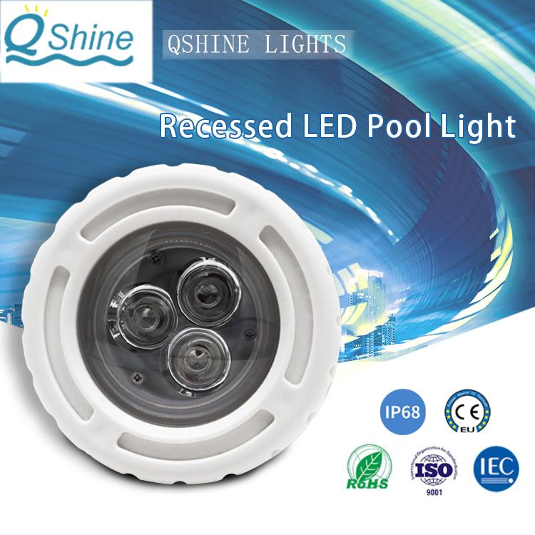 Recessed led pool lighting 1