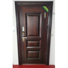 Livingroom Simple Style Customize Interior Solid Wooden Door