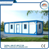 Prefabricated steel frame container house