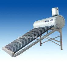 2014 Calentador de agua solar del tubo de vacío de compresión del acero de aluminio superventas mejor