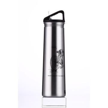 Stainless Steel Single Wall Outdoor Sports Water Bottle Ssf-580 Flask Vacuum