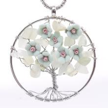 Λουλούδια δέντρο διακοσμητικά της πέτρας πέτρα κρεμαστό κόσμημα ζωής