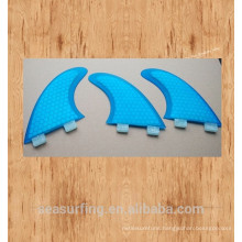 New season blue color hex featured beauty design fins of FCS /FCS II base on surfboards