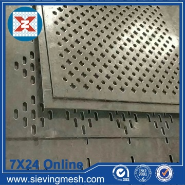 Panel de metal perforado galvanizado