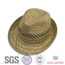 Hollow Grass Fedora Straw Hat (GK03-S1005)
