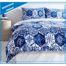 Vintage patrón de algodón de revestimiento de edredón de algodón