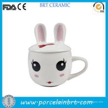 Cute Rabbit Design Kids Gift Céramique Baby Cup