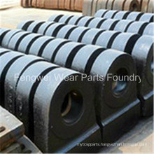 High Manganese Steel Hammer for Hammer Crusher