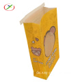 Biodegradation  popcorn paper  bag
