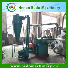 2014 Professional wood waste grinding machine /wood shaving hammer mill/wood chip hammer mill with CE 008613253417552
