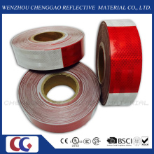 Red White Conspicuity Reflective Stripe Tape for Truck (C5700-B(D))