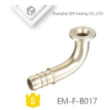 ЭМ-Ф-B017 chromed латунный угловой адаптер труба PEX сторона