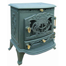 Multi Fuels Cast Iron Wood Burning Stove (FIPA023) , Free Standing Stove