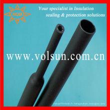 Adhésif libre de tuyau de rétrécissement de la chaleur de double paroi de Halogn 3M rayé
