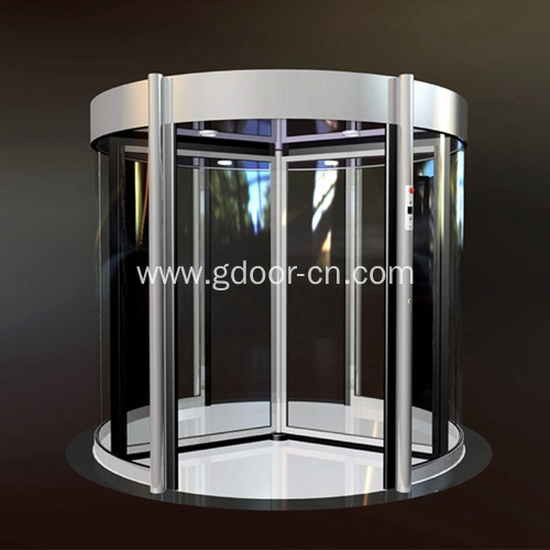 Automatic Three Wing Revolving Door