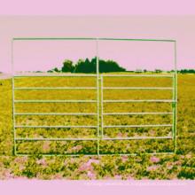 6 Rails Horse Panel Painéis de Gado HDG Superfície