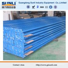 Support de poteau en acier adapté aux besoins du client par prix de vente en gros
