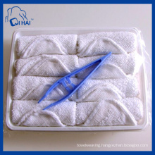 Cotton White Disposable 10g Airline Towel (QH331122)