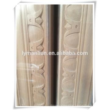 LVL pine wood moulding furniture use beech wood moulding
