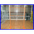 DM hot sale powder coating low price canada temporary fence