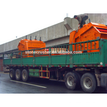 PF Series High Efficiency Mobile Crushing Plant Impact Crusher