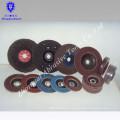 Manufacture different size of flap disc in Aluminum oxide &zirconium corundum