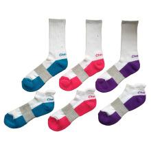 Männer Frauen Baumwoll Terry Sport Socken mit Bogen Unterstützung (ck-02)