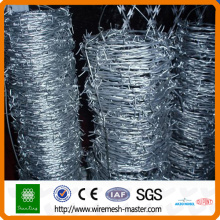 PVC barbed wire mesh