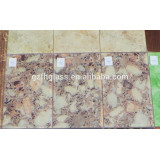 Good price for 2-19mm tempered painted wood-grain glass