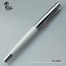 Фабричная поставка Прямо Валин Рекламная металлическая роликовая шариковая ручка