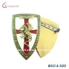 Escudo Design terno personalizado distintivo de Metal