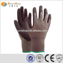 13 Gauge nylon knit palm work luvas