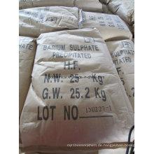 98% Bariumsulfat für die Lackindustrie und die Kautschukindustrie gefällt