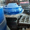 Запасные части для дробилки для OEM-дробилок, Пластина челюсти для Metso