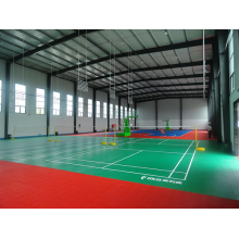 Badminton PVC Sport Flooring BWF Certification